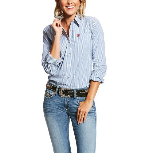 Ariat Classic Blue Striped Western Shirt