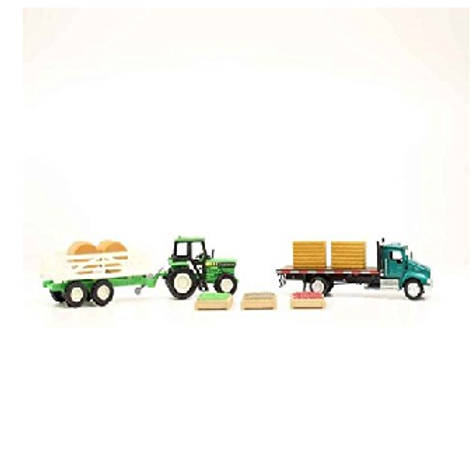 Flatbed/Tractor Set
