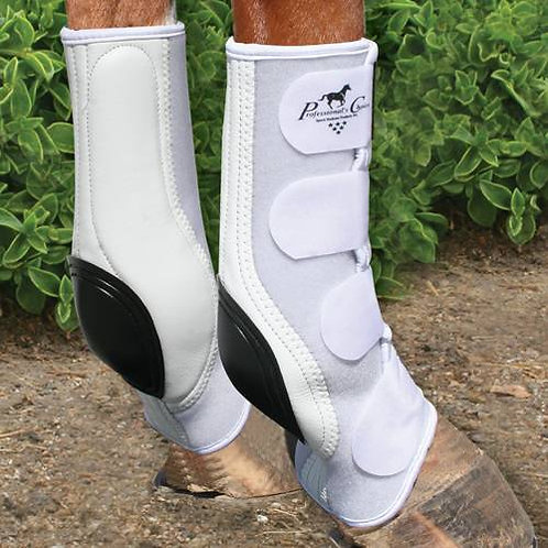 Prof Choice VTech Skid Boot -White
