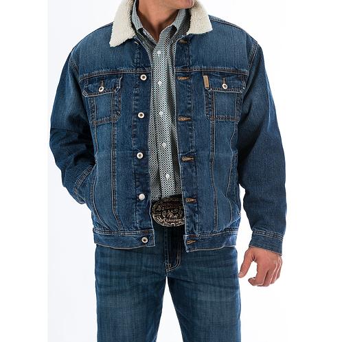 Cinch Bronze Stitched Denim Jacket