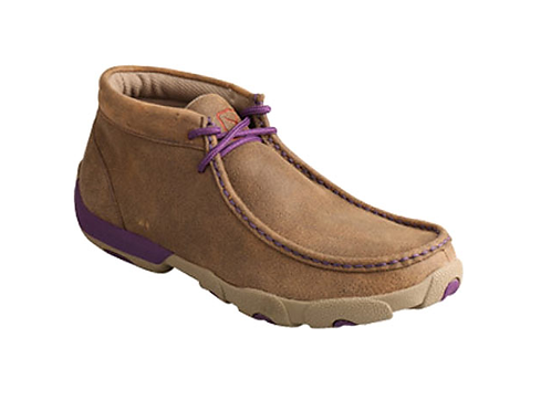 Twisted X Youth Driving Moccs - Purple