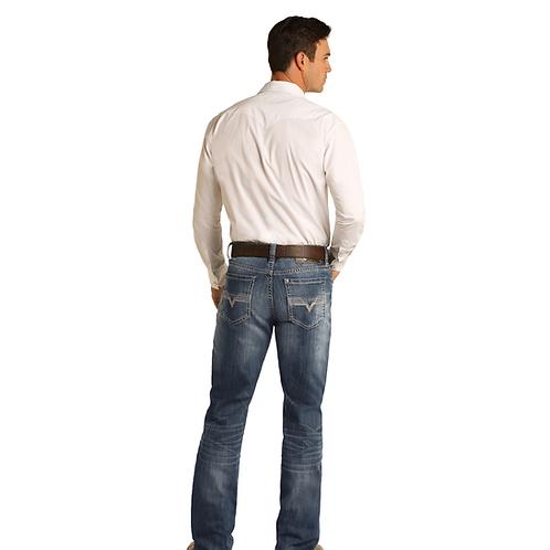 Men's R&R Denim Double Barrel Jeans - Medium Wash