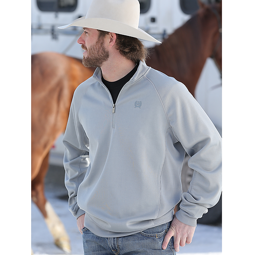 Cinch Light Grey Pullover