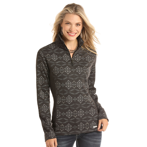 Panhandle Two Tone Aztec Athletic Pull over