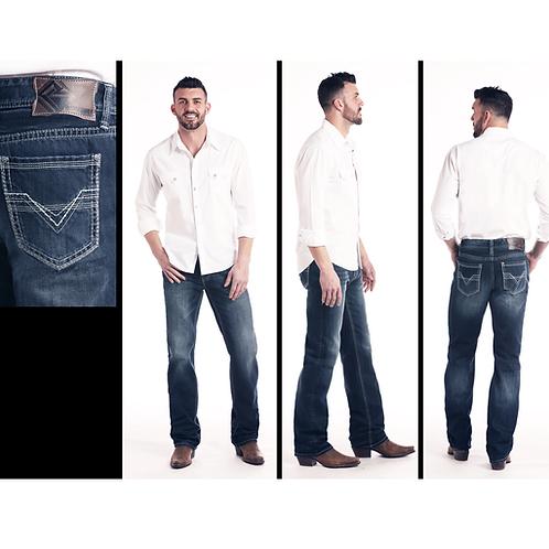 Men's R&R Denim Double Barrel Wire V Jeans
