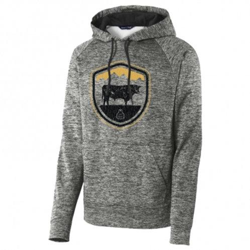 STS Ranchwear Crest Hoodie - Electric Black
