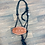 Thumbnail: Cactus Saddlery Rope Halter w/Leather Floral Noseband
