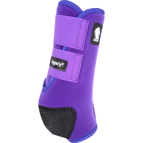 Classic Equine Legacy2 Boots - Purple