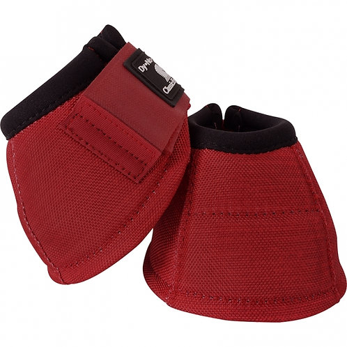 Classic Equine Bell Boots - Crimson