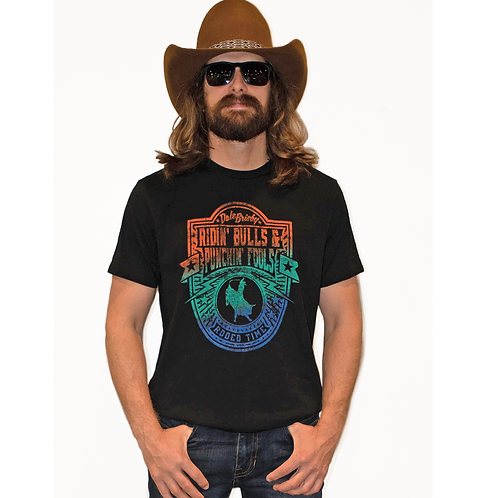 Panhandle Dale Brisby Colorful Crest Tee