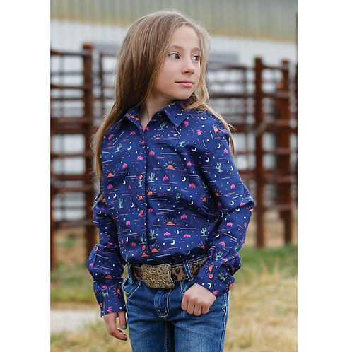 Cinch Navy Arizona Charm Western Shirt