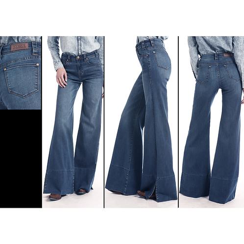 Rock & Roll Denim Palazzo Flare Jeans