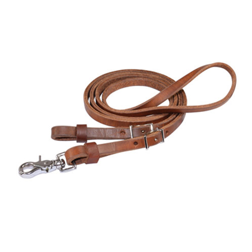 """Circle Y Leather 'Contest' Reins - 1/2"""" x 7'"""