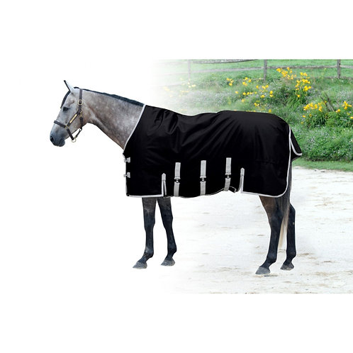 Century 1200D Winter Turnout Belly Guard Blanket w/200g Fill - Black
