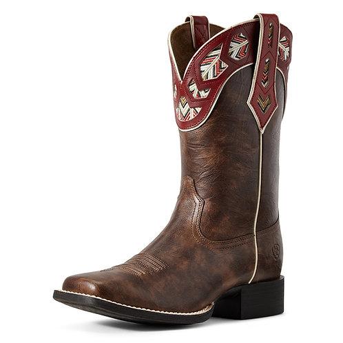 Ariat Round Up Monroe Brown Boots