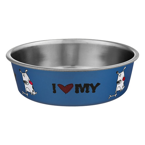 Bella Bowl 'I <3 My Dog' - Large