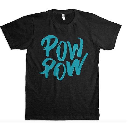 Leroy Gibbons Pow Pow Black T-shirt