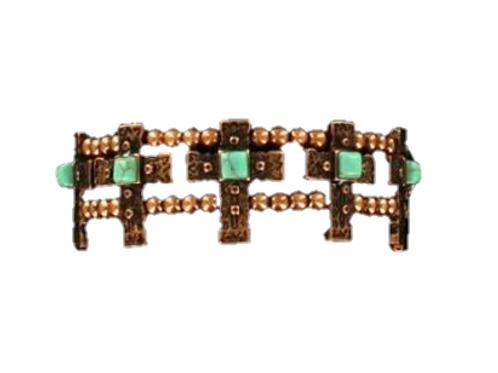 Blazin Roxx Copper Cross Bracelet
