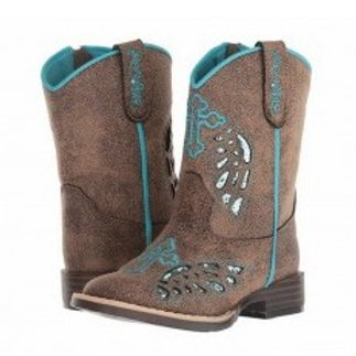 Girls Blazin Roxx Gracie Blue Boots