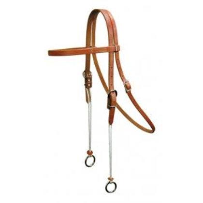 Reinsman Rope Gag Browband Bridle