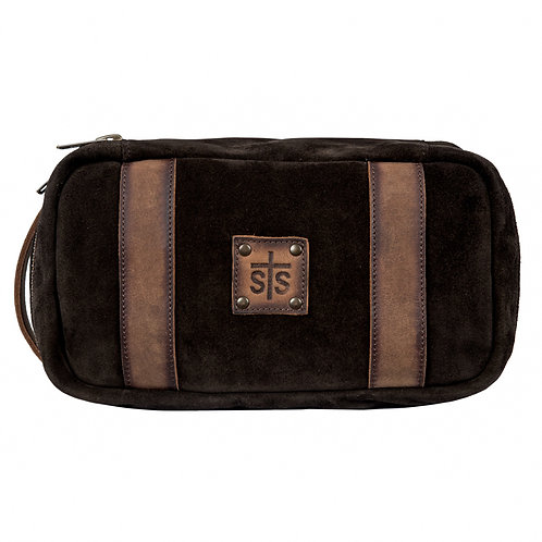 STS Heritage Shave Kit - Brown Suade