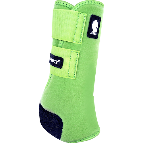 Classic Equine Legacy2 Boots - Lime Green