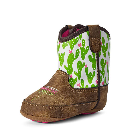 Ariat Lil' Stompers Baby Boots - Anaheim Cactus