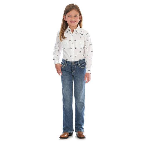 Wrangler Retro Aztec W Girls Jeans
