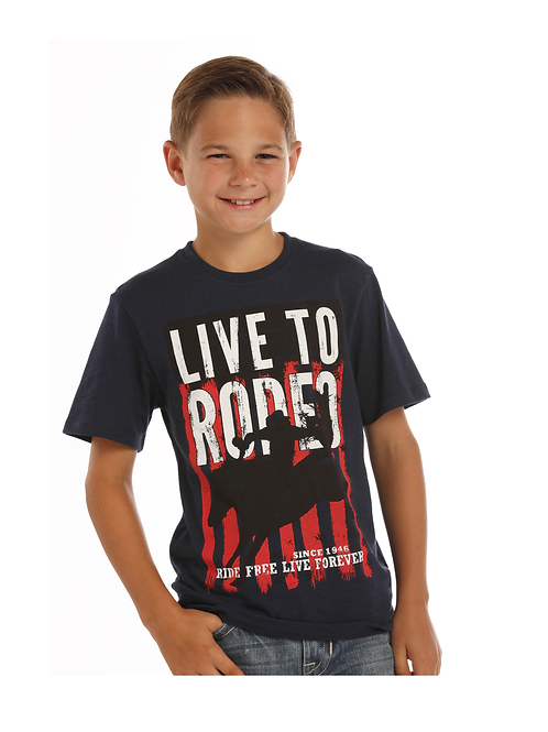 Panhandle 'Live To Ride' Tee