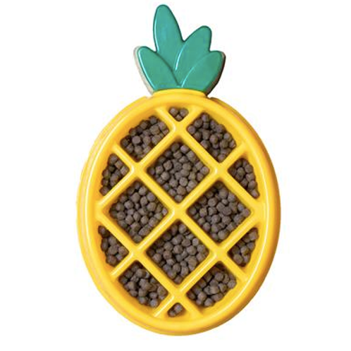 Zippy Paws Happy Bowl - Pineapple