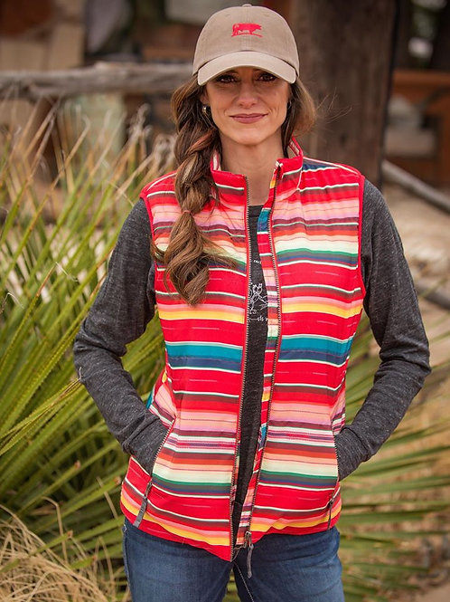 Ladies STS Sealy Vest - Bright Serape