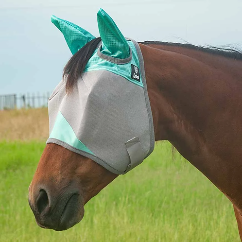 Cashel Crusader Fly Mask w/Ears - Mint