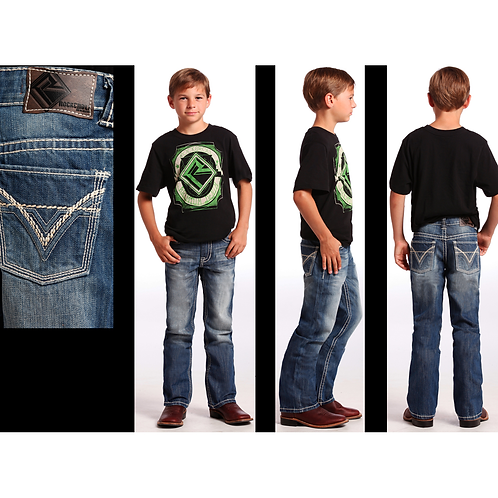 Rock & Roll Denim BB Gun BB-9576 Jeans