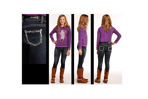 Rock & Roll Denim G5S4620 Skinny Jeans