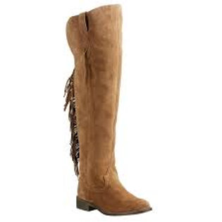 Ariat Ferrah Fringe Tan Boots