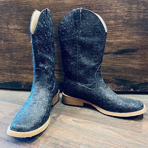Roper - Ladies Black sparkle Boots