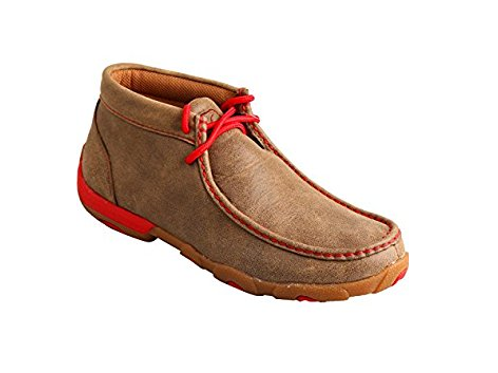 Twisted X Driving Moccs - Red