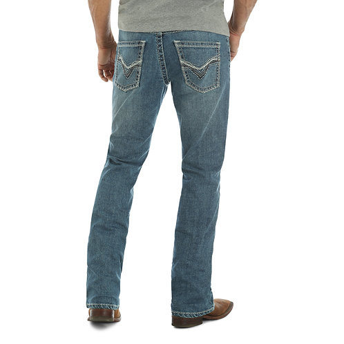 Rock 47 Slim Boot Cut Jeans - Ukulele