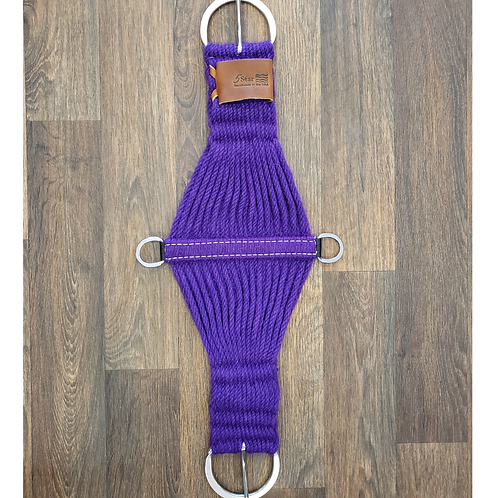 5 Star Mohair Cinch - Purple