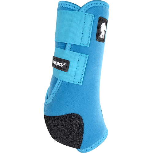 Classic Equine Legacy2 Boots - Turquoise