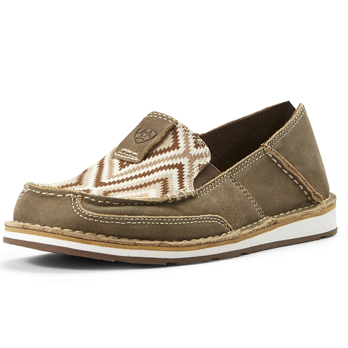 Ladies Ariat Cruisers - Tan Aztec