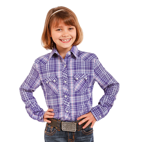 Panhandle Purple Cactus Western Shirt