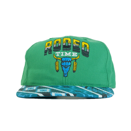 ff9263511e4ec Dale Brisby Green Aztec Rodeo Time Snapback