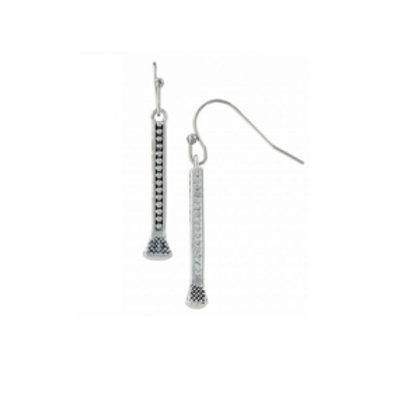 Montana Silversmith Hanging Nails Earrings