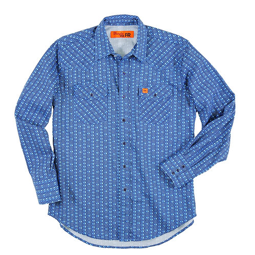 Wrangler FR Blue Triangle Shirt