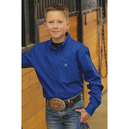 Boy's Cinch Western Shirt MTW7062149