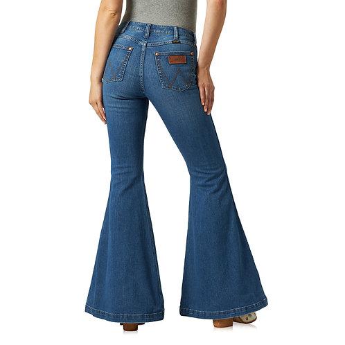 Wrangler Gabriella Hi Rise Flare Jeans