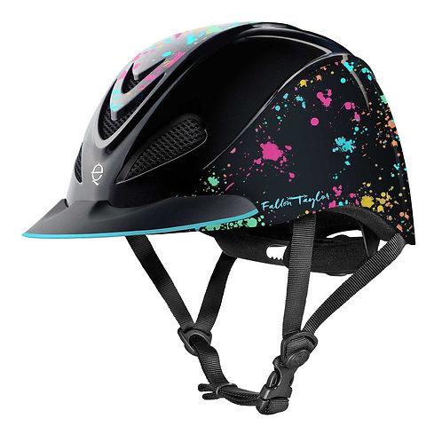 Troxel Fallon Taylor Helmet - Rave Splatter
