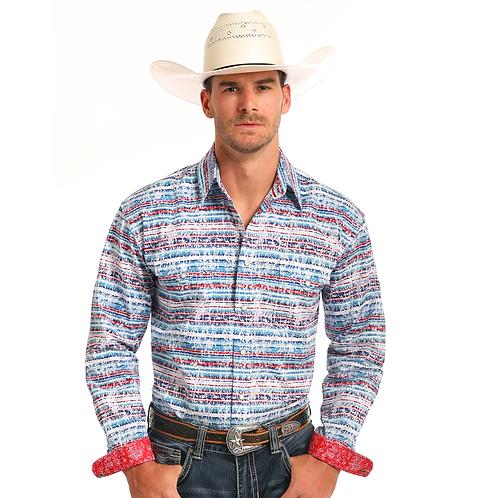 Panhandle Simeon Aztec Western Shirt