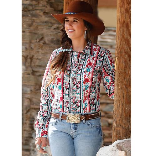 Cinch Vintage Floral Western Shirt